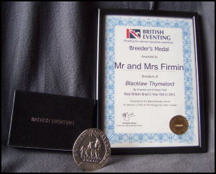 British Eventing Breeders Award